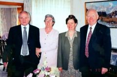Alec & Mura Wilson with John & Olive McDowell
